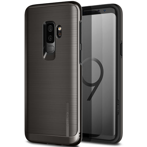 Galaxy S9 Plus Case Slim Meta Titanium Black