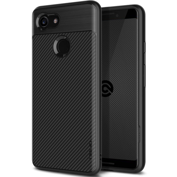 Google Pixel 3 XL Case Flex Pro Black