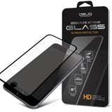 OBLIQ iPhone 6 Plus Screen Protector Full Cover Tempered Glass Black
