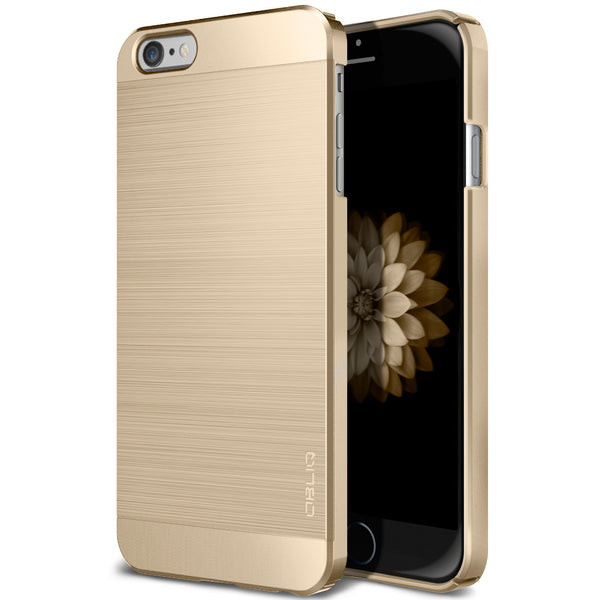 OBLIQ iPhone 6S Plus Case Slim Meta Champagne Gold