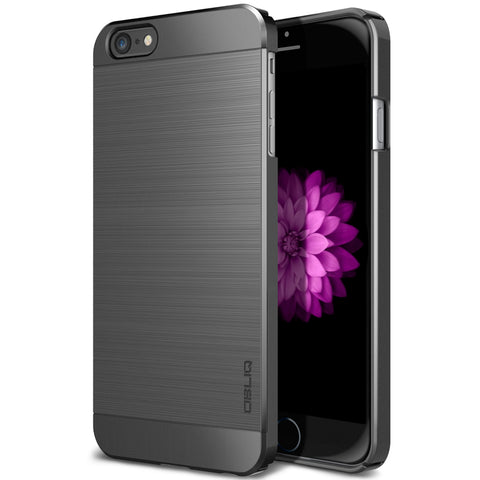 OBLIQ iPhone 6 Plus Case Slim Meta Titanium Space Gray