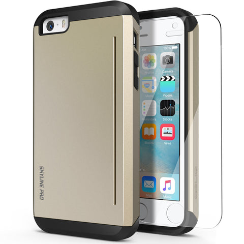 OBLIQ iPhone 5/5S/SE Case Skyline Pro Champagne Gold