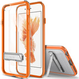 OBLIQ iPhone 6S Case Naked Shield Orange