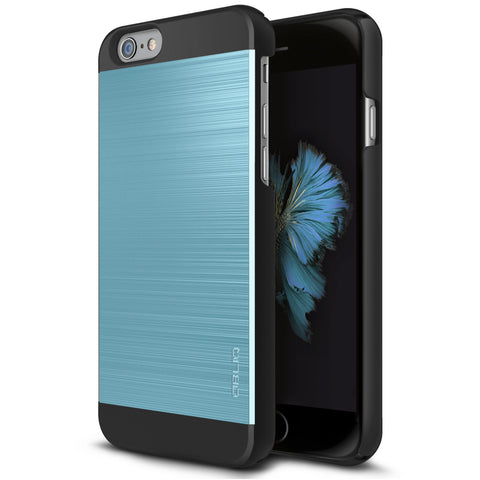 OBLIQ iPhone 6S Plus Case Slim Meta 2 Metallic Blue