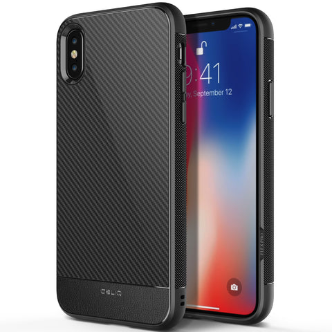 OBLIQ iPhone X Case Flex Pro Black