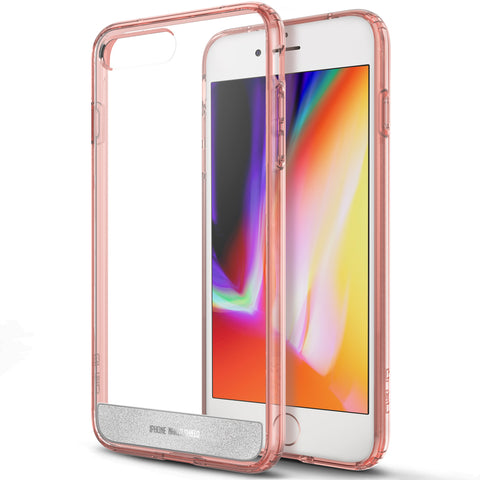 OBLIQ iPhone 8 Plus Case Naked Shield Rose Gold