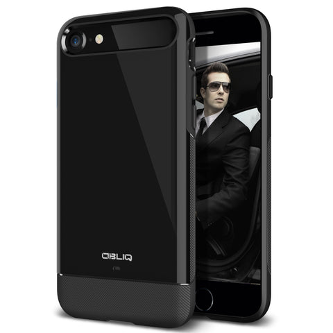 OBLIQ iPhone 7 Case Dual Meta Black