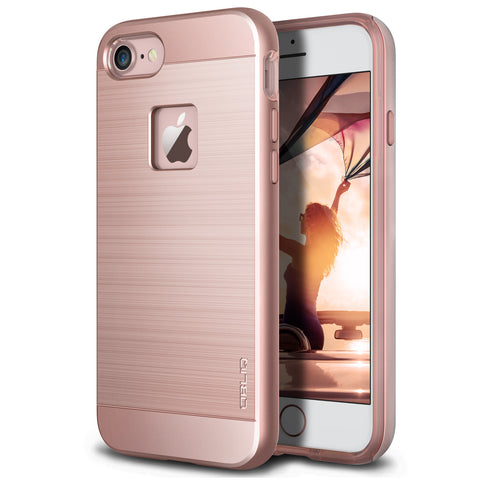OBLIQ iPhone 7 Case Slim Meta Rose Gold