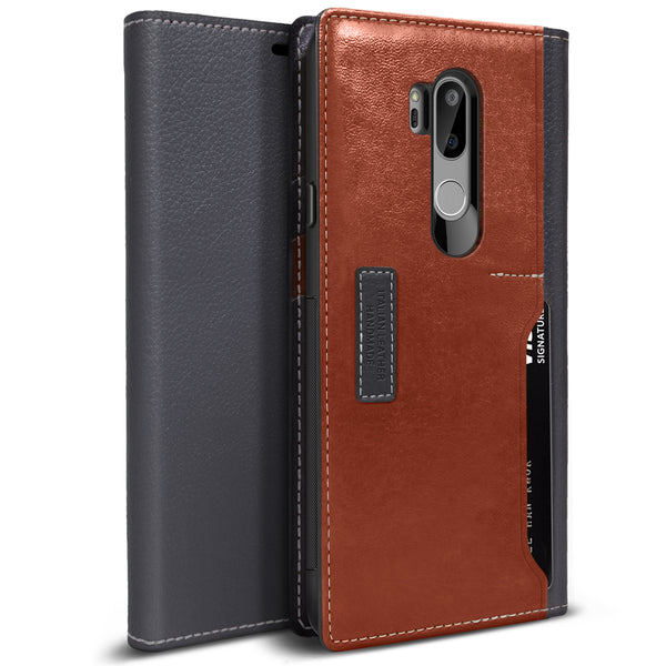 OBLIQ LG G7 ThinQ Case K3 Wallet Black Gray Brown