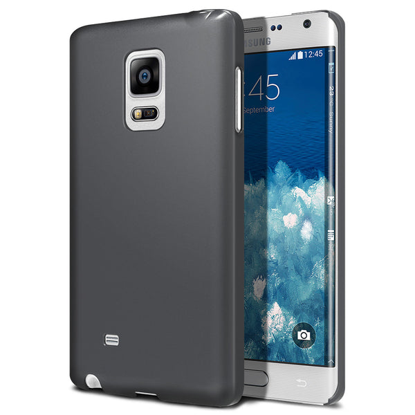 OBLIQ Galaxy Note Edge Case Ultra Slim Fit Titanium Space Gray