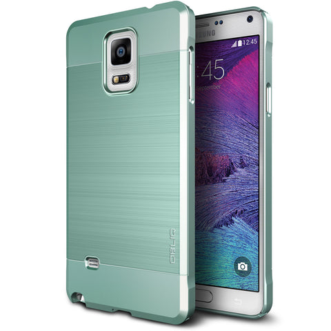 OBLIQ Galaxy Note 4 Case Slim Meta Metallic Emerald Mint