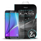 OBLIQ Galaxy Note 5 Screen Protector Tempered Glass Protection 2PK - 7