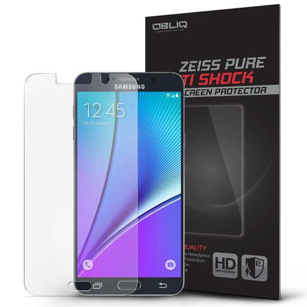 OBLIQ Galaxy Note 5 Screen Protector Zeiss Pure Anti Shock 1PK