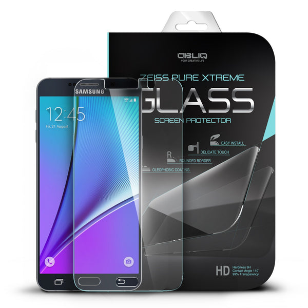 OBLIQ Galaxy Note 5 Screen Protector Tempered Glass Protection 1PK