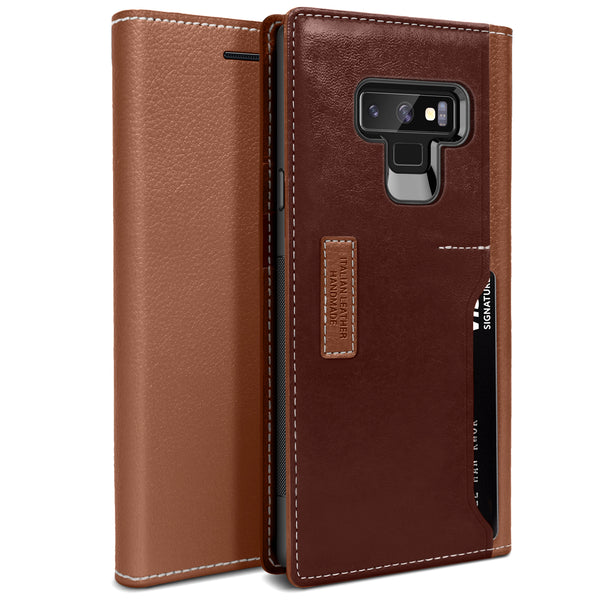 Galaxy Note 9 K3 Wallet Brown/Burgundy