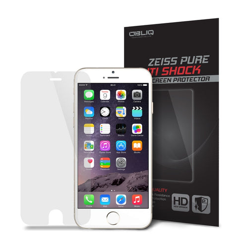 OBLIQ iPhone 6 Screen Protector Zeiss Pure Anti Shock 1PK