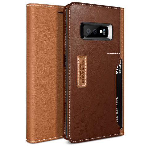 Galaxy S10e K3 Wallet Brown/Burgundy