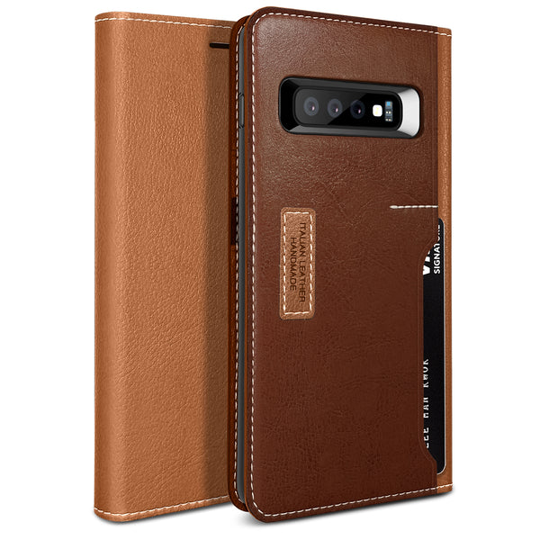 Galaxy S10 Plus K3 Wallet Brown/Burgundy