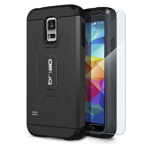 OBLIQ Galaxy S5 Case Xtreme Pro Black