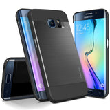 OBLIQ Galaxy S6 Edge Case Slim Meta Titanium Black