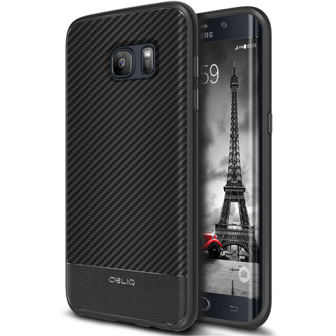 OBLIQ Galaxy S7 Edge Case Flex Pro Carbon
