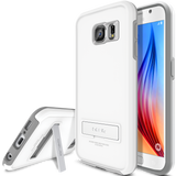 OBLIQ Galaxy S6 Case Skyline Advance Pearl White and Gray