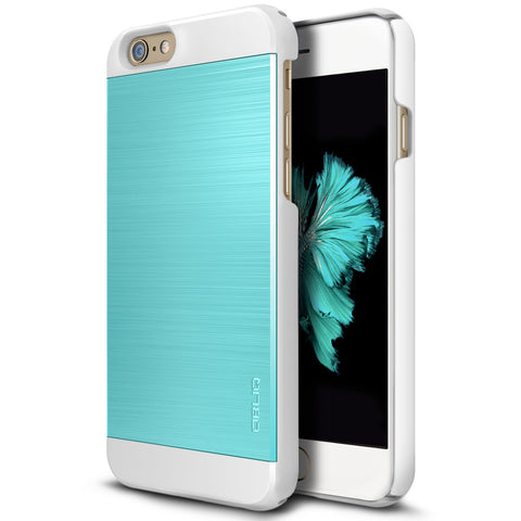OBLIQ iPhone 6 Case Slim Meta 2 Aqua Blue