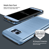 OBLIQ Galaxy S7 Edge Case Slim Meta Blue Coral