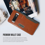 Galaxy S10 K3 Wallet Black Gray/Brown