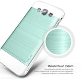 OBLIQ Galaxy A8 Case Slim Meta Metallic Emerald Mint