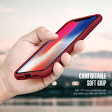 iPhone XS Max Case Flex Pro Red