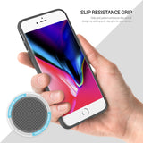 OBLIQ iPhone 8 Plus Case Dual Meta White