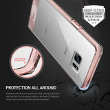 OBLIQ Galaxy Note 7 Case Naked Shield Rose Gold
