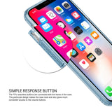 OBLIQ iPhone X Case Naked Shield Blue