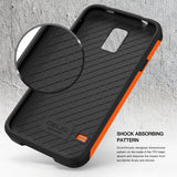 OBLIQ Galaxy S5 Case Xtreme Pro Orange