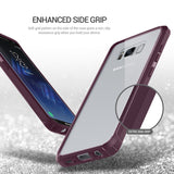 OBLIQ Galaxy S8 Plus Case Naked Shield Orchid Gray