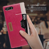 OBLIQ iPhone 7 Plus Case K3 Wallet Mud Gray Rose Pink