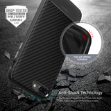 OBLIQ iPhone 8 Plus Case Flex Pro Carbon