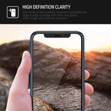 iPhone XS Max Screen Protector Tempered Glass Protection 2PK