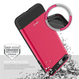 OBLIQ iPhone 7 Plus Case Dual Meta Hot Pink