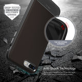 OBLIQ iPhone 8 Plus Case Flex Pro Espresso