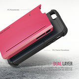 OBLIQ iPhone 5/5S/SE Case Skyline Pro Pink