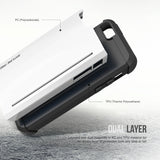 OBLIQ iPhone 5/5S/SE Case Skyline Pro White