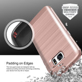 OBLIQ Galaxy S7 Case Slim Meta Rose Gold