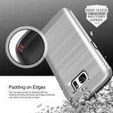OBLIQ Galaxy S7 Case Slim Meta Satin Silver