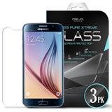 OBLIQ Galaxy S6 Screen Protector Tempered Glass Protection 3PK