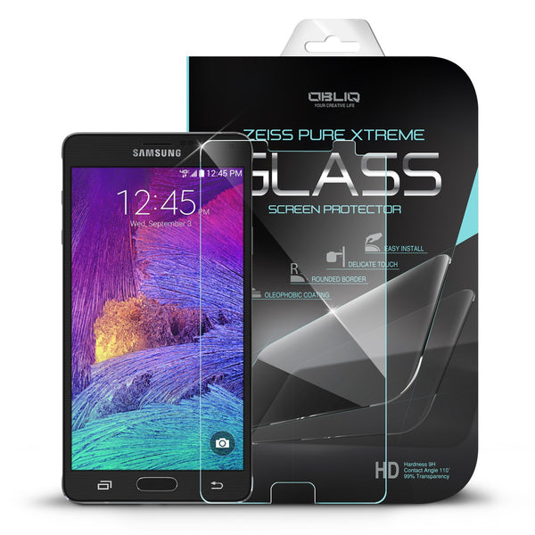 OBLIQ Galaxy Note 4 Screen Protector Tempered Glass Protection 1PK
