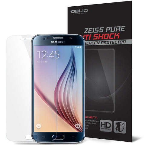 OBLIQ Galaxy S6 Screen Protector Zeiss Pure Anti Shock 1PK - 1