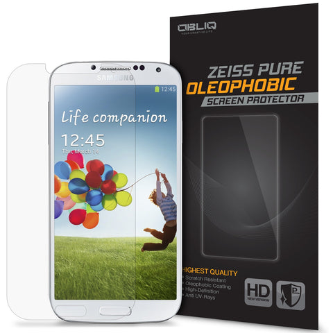 OBLIQ Galaxy S4 Screen Protector Pure Oleophobic 1PK