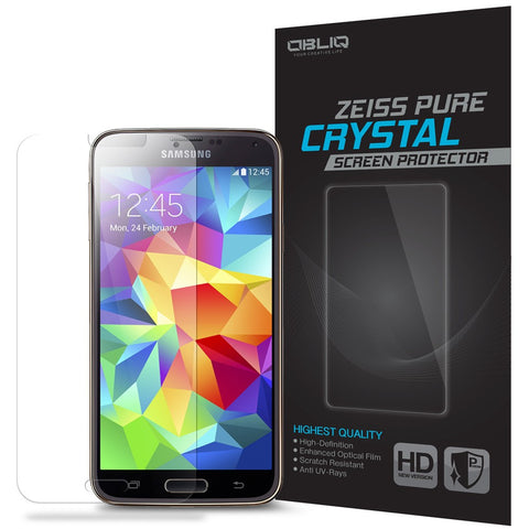 OBLIQ Galaxy S5 Screen Protector Zeiss Pure Crystal 1PK
